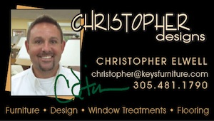 """I look forward to helping you make the most of your Keys home...from furniture & space planning to design & color coordination, let my 22 years of experience go to work for you!  Furniture, flooring, window treatments and kitchens & baths...I do it all!""
